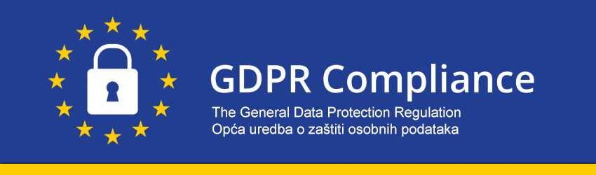 Opća uredba o zaštiti osobnih podataka (GDPR)